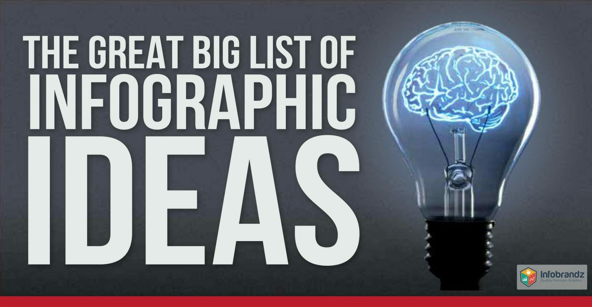 The Great Big List of Infographic Ideas