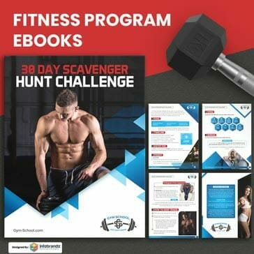 fitness ebook,Ebooks,infographic design agency,content marketing design agency