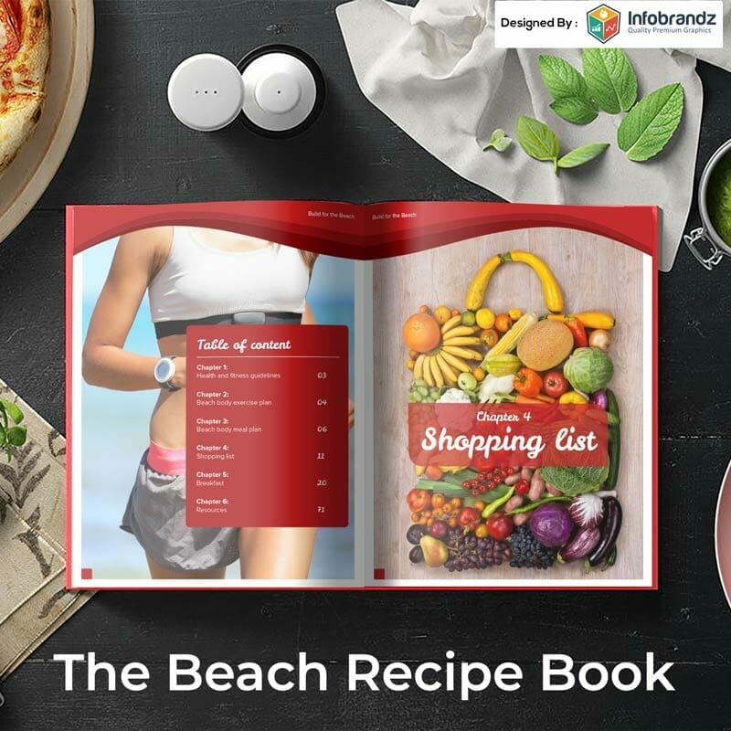 recipe ebook,infographic design agency,content marketing design agency